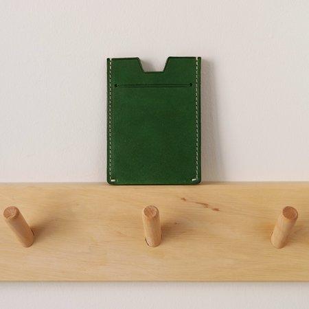 Salix Pond Accordion Card Case - Avocado