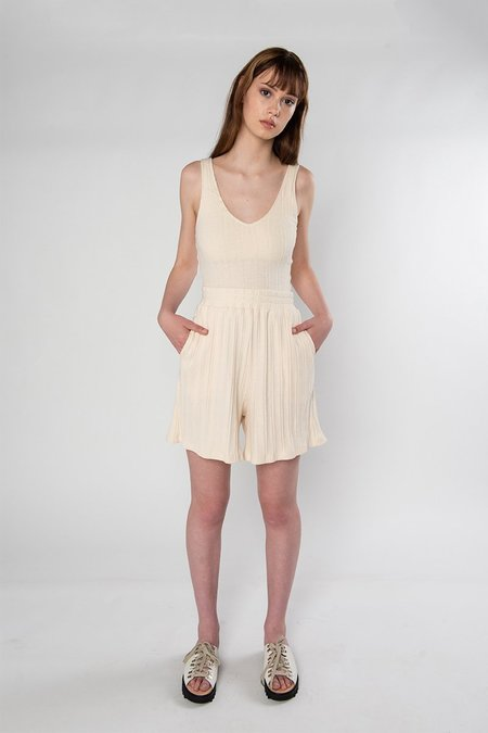 Limb The Label Riley Shorts - Cream