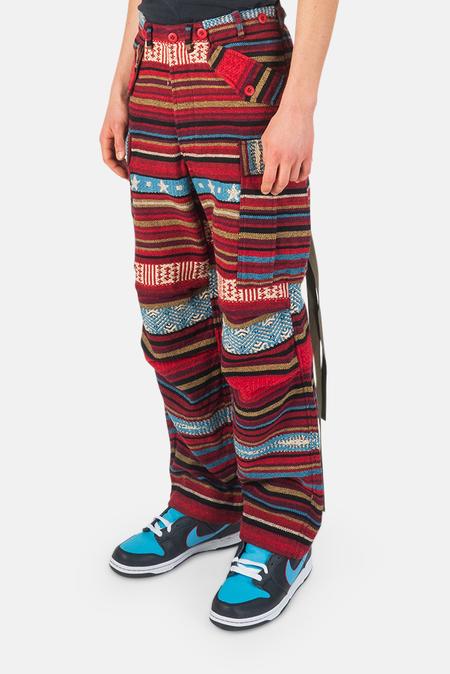 Maharishi Hill Tribe M65 Cargo Pants - Lama Red