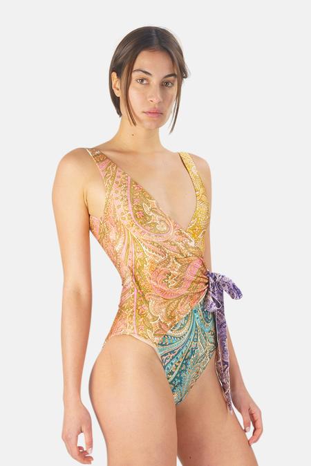 Zimmermann Brighton Wrap 1 Piece Swimwear - Spliced
