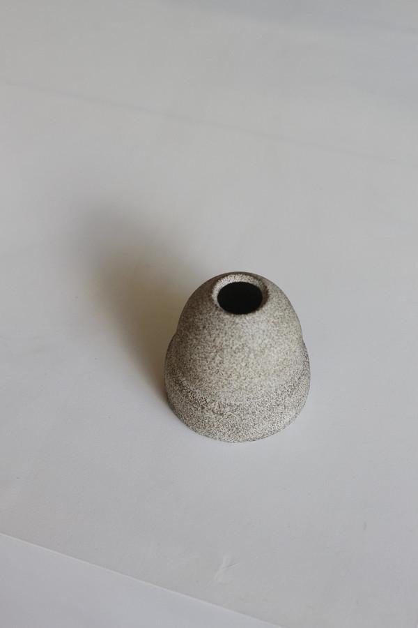 Natalie Weinberger Black Sand Bud Vase