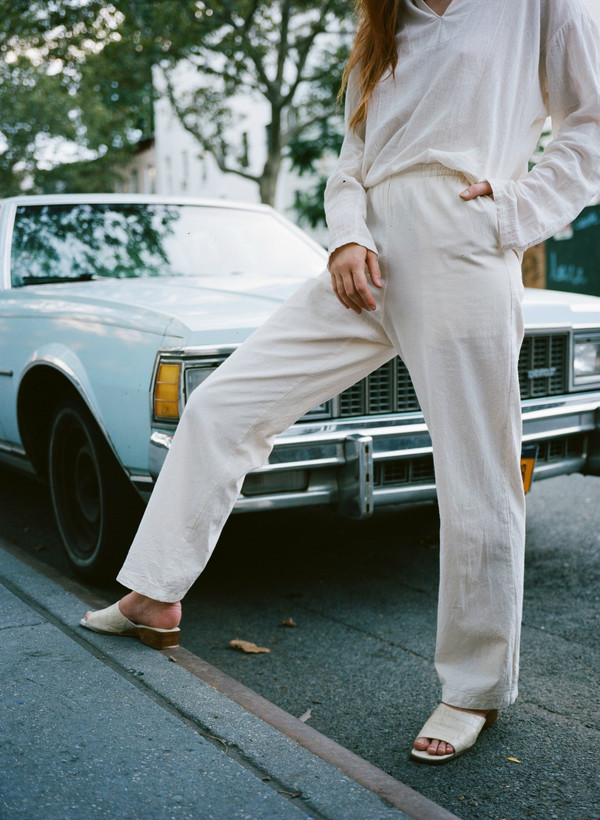 Sincerely, Tommy Nopales Linen Pant