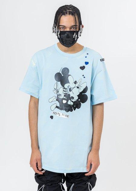 99%is  LOVE IN THE DARK T-Shirt - Sky Blue