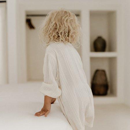 Kids Illoura Husk Romper - Off-White