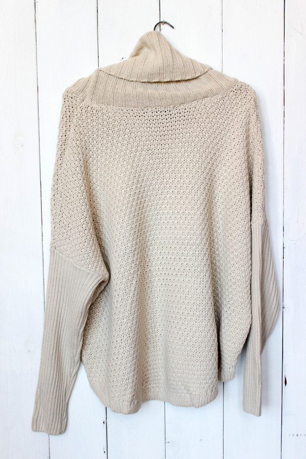 Doe & Rae Pullover Cowl Sweater