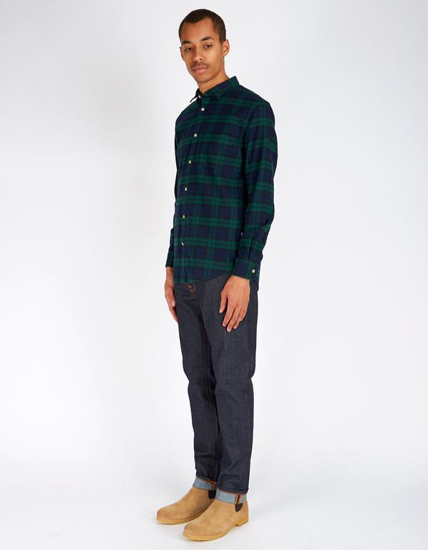 Men's No Nationality Dexter Flannel Plaid Shirt Green