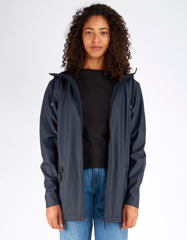 Rains Breaker Jacket Women's Black