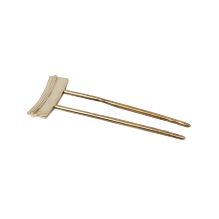 Aesa Ridge Hair Pin - Bronze