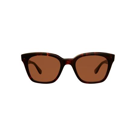 Garrett Leight Claire Vivier Nouvelle Sunglasses - Caviar Tortoise
