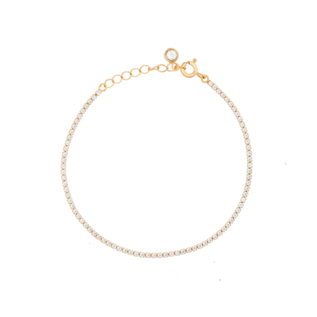 Girls Crew Dainty Tennis Bracelet