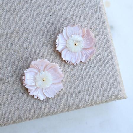 T Marie Designs Paris Stud - Blush Shell