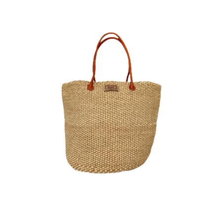 Zuri Sisal Tote Bag - Natural