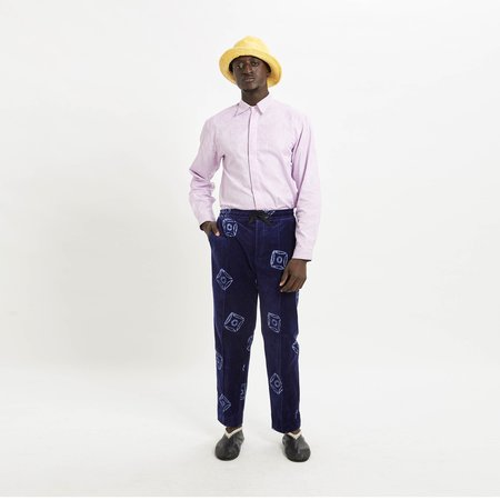 Post-Imperial Lagos Shirt - Lilac