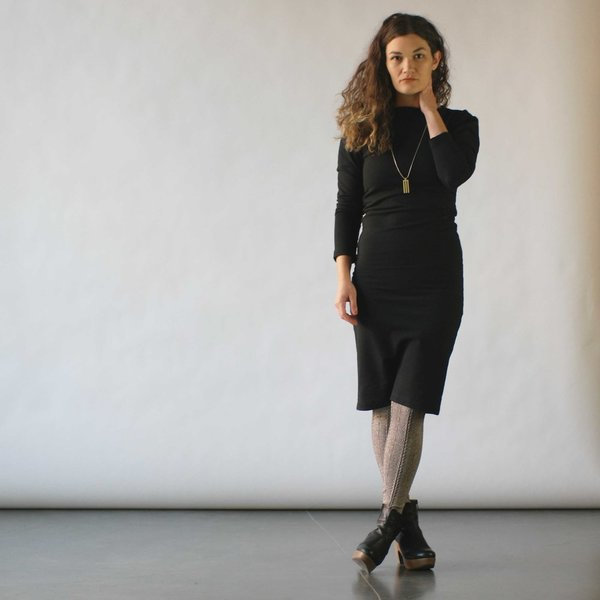 Study NY Long Sleeve Twist Dress