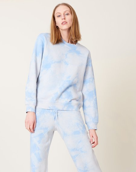 Raquel Allegra Classic Sweatshirt - Cloud Wash Blue