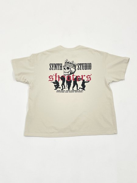 SYNTH Shooters Tee - cream
