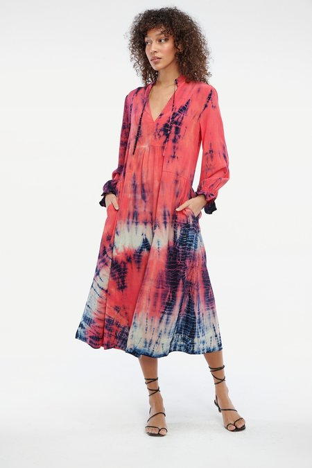 Lacausa Roma Dress - Firecracker