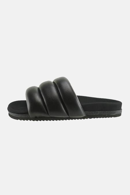 Roam Super Puff Slide Shoes - Black