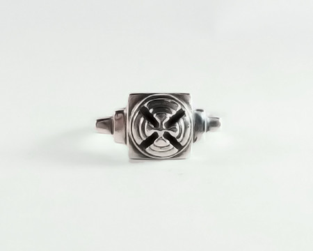 Men's Lacar Turret Ring