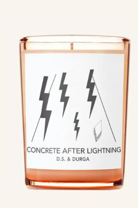 D.S. & Durga Concrete After Lightning Candle