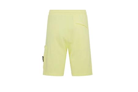 Stone Island Fleece Shorts - Lemon