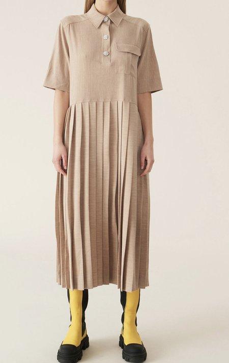 Ganni Dress - Tannin
