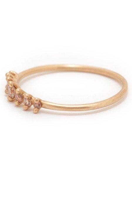 Valley Rose Mini Meissa Ring - Rose Diamonds