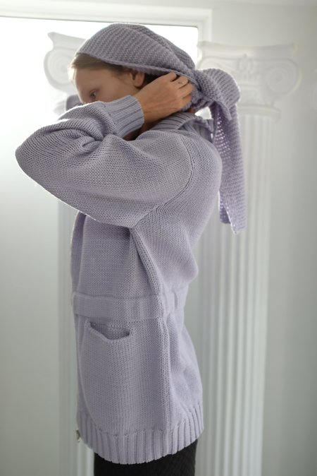 Beklina Knit Nonna Jacket - Lilac