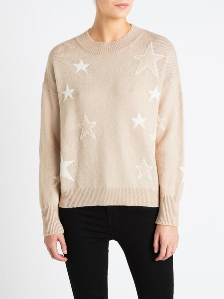 Rails Kana Knit - Camel Stars