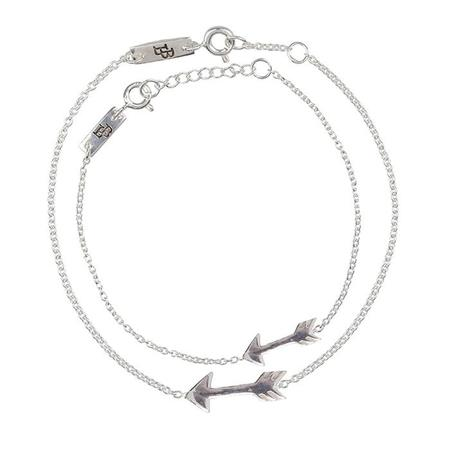Lennebelle Petites Woman And Child Bracelet Set You Give Me Direction - Silver