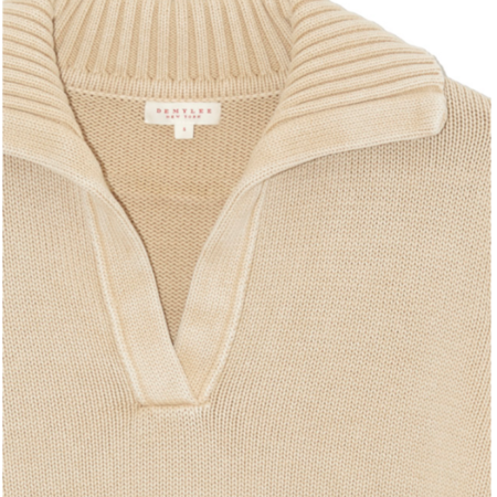 Demy Lee CARRIE SWEATER - VANILLA