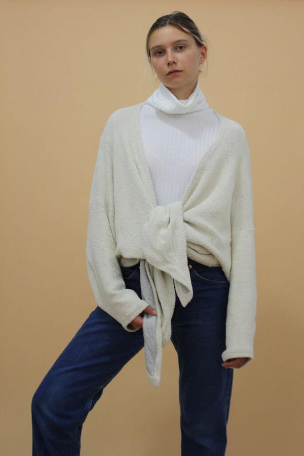 Calder Blake Ava Tie-Back Sweatshirt