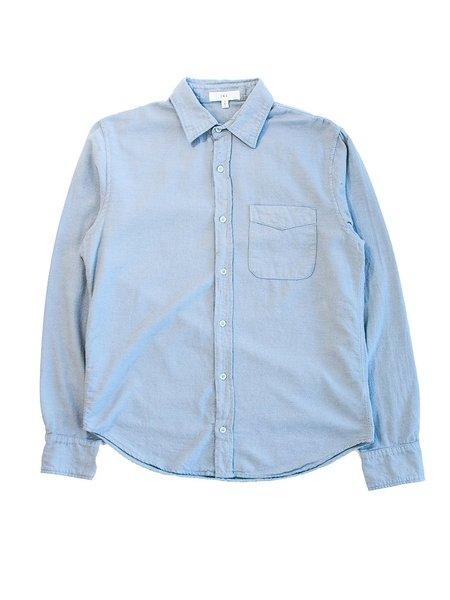 Save Khaki Oatmeal Flannel Shirt - Sky