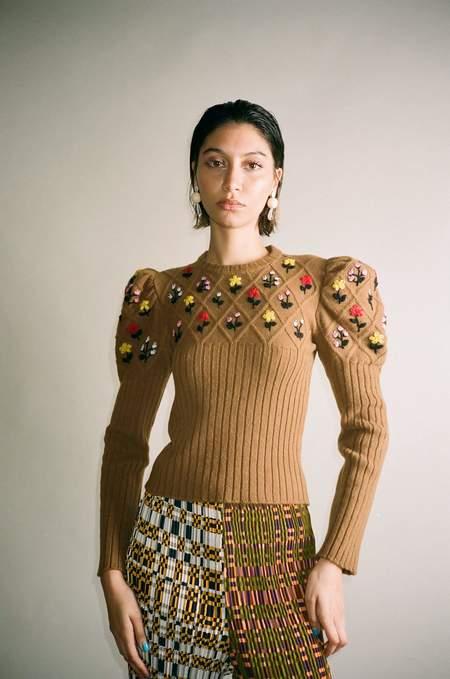 Cormio Oma Sweater - Brown