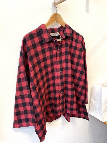 Eleven Stitch Design Big Flannel Shirt