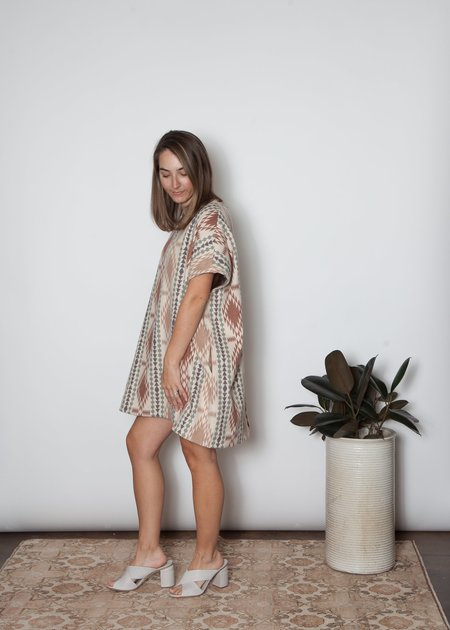 SBJ Austin Mary Dress - Taos Flannel