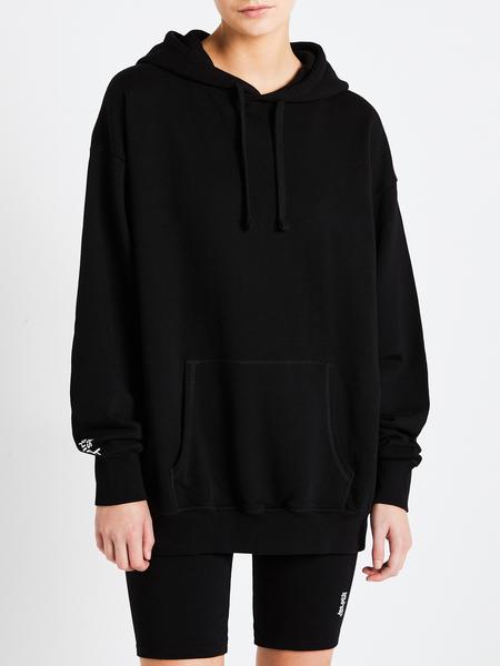 LES GIRLS LES BOYS Oversized Hoodie - Black