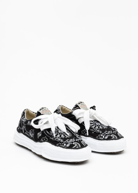 Mihara Yasuhiro Original Sole Bandana Moccasin Sneaker - Black