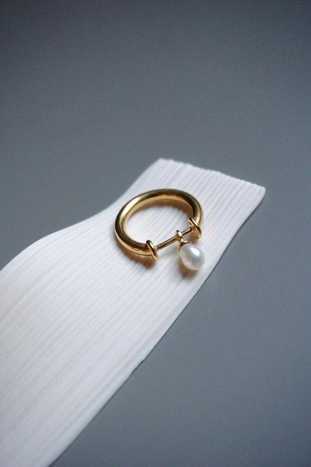 Beatriz Palacios Pearl Bar Ring