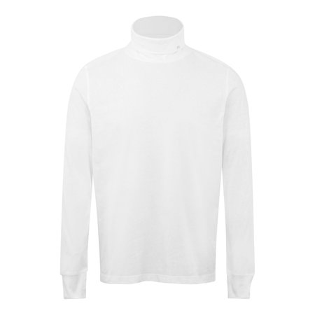PS Paul Smith LS Roll Neck Tee - White