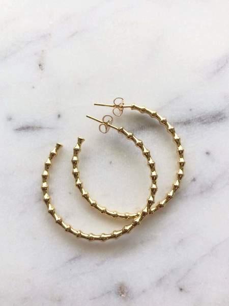Jessica Matrasko Jewelry Jane Hoop Earrings
