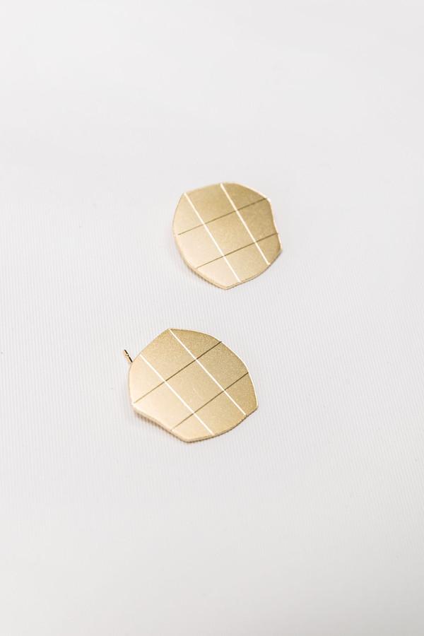 Knobbly Studio Gold Marleigh Studs