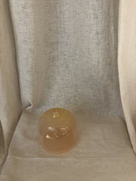 Gary Bodker Designs Big Gem Square Vase - Peach