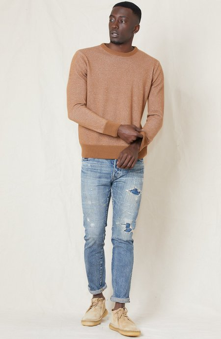 PRESIDENTS Crew Cotton Cashmere Vanise Recycled Cashmere Sweater