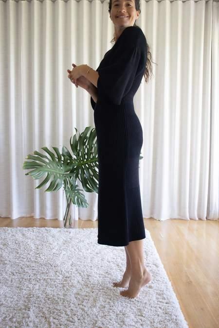 Staud Carnation Dress - Black