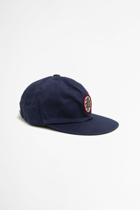Headwraps Tiger patch six panel - navy