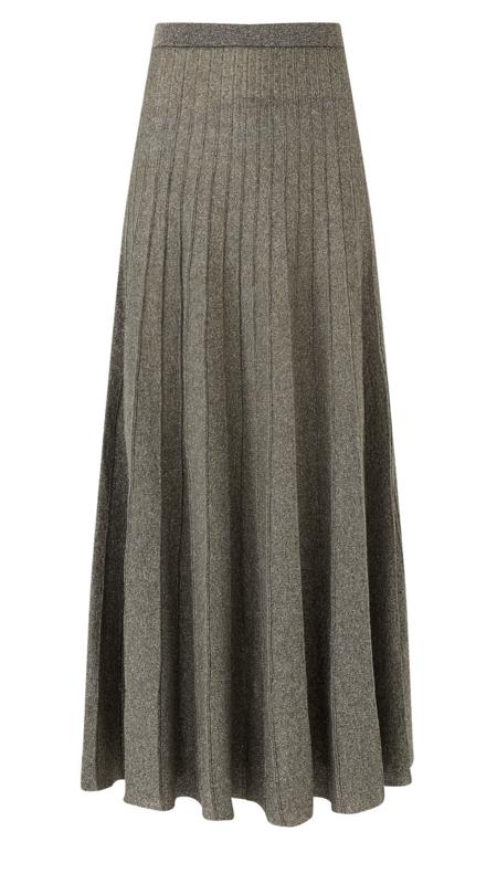Joseph Lurex Skirt - Anthracite