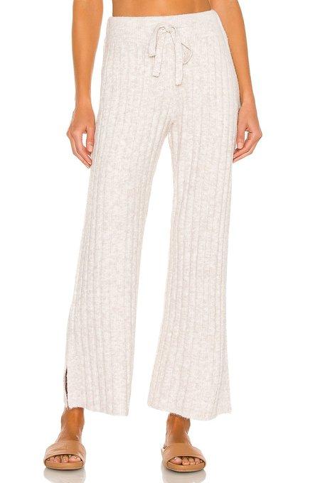 Central Park West Juniper Knit Wide Pants