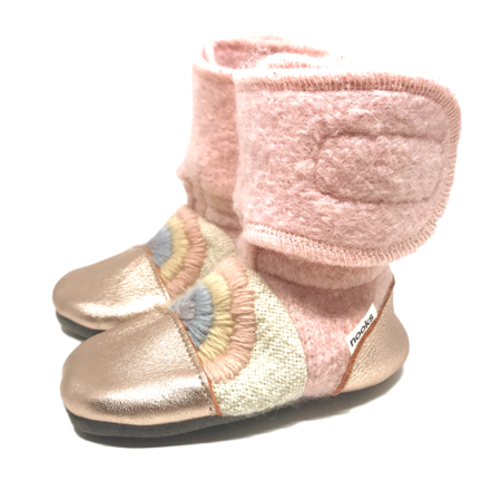 Nooks Design Love Child Felted Wool Booties
