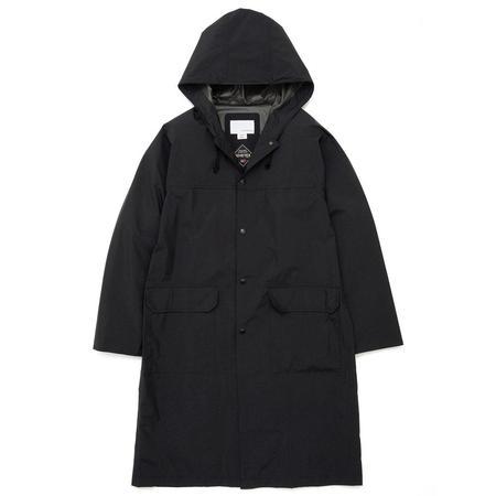 Nanamica Inc. Gore-tex Shell Coat - Black